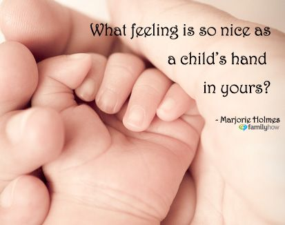 Touch is not just a good idea....it is a necessary nutrient for infant growth