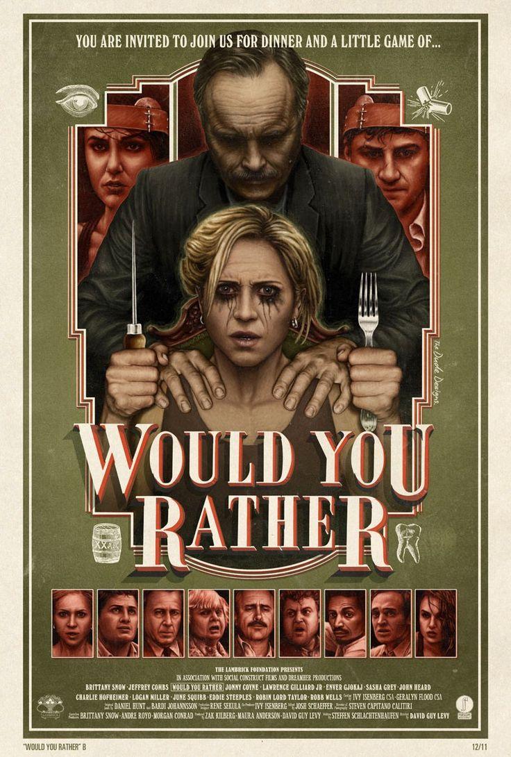 """""""ЧТОБЫ ВЫ СДЕЛАЛИ/WOULD YOU RATHER"""" (2012)"""