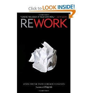 Rework - This is an awesome book and a highly recommended read: Worth Reading, Rework, Books Worth, Reading List, Business Books, Jason Fried