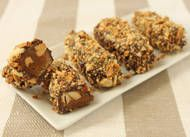 """""""Almond Buttercrunch""""  Taste just like Almond Roca...which is one of my favorites! Easy to make."""