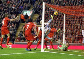 Pertandingan Liga Inggris Liverpool Vs West Ham,Skor Akhir 4 - 1