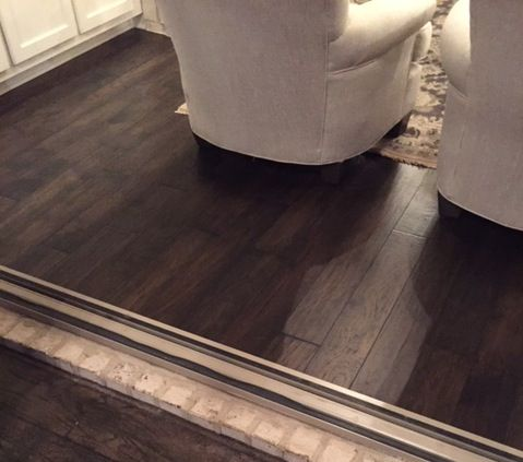 We Just Received This Pic Of Our Mountain View Hickory Acorn Hardwood Flooring In A Nolensville Tn Parade Homes Thanks Your Mannington Floors