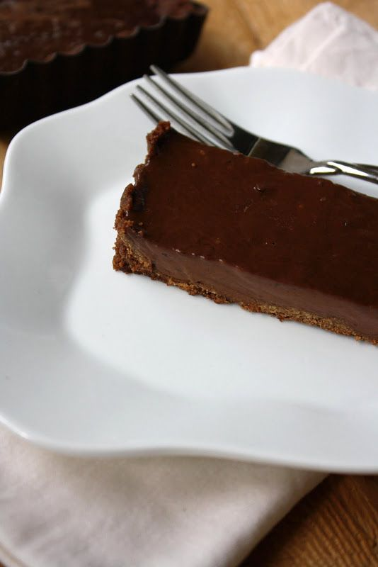 Dinners & Dreams » Chocolate Pudding Pie (Gluten-Free)