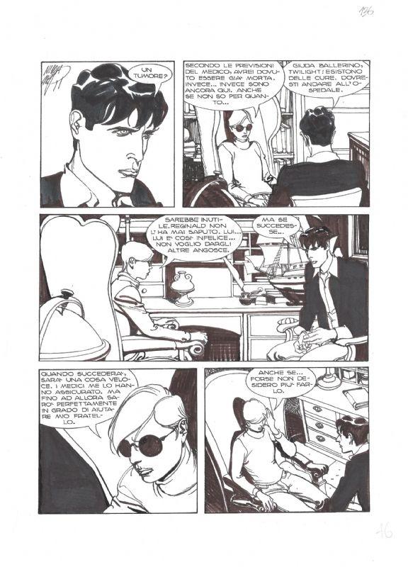 Dylan Dog 181 pag.46 - Nicola Mari Comic Art