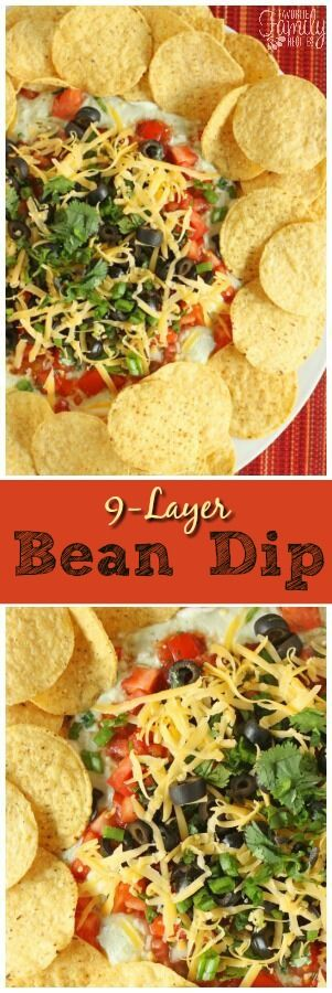 I made this 9 Layer Bean Dip a few days ago. The plate was practically licked clean in about 2 minutes. It is pretty simple but full of many great flavors! via @favfamilyrecipz