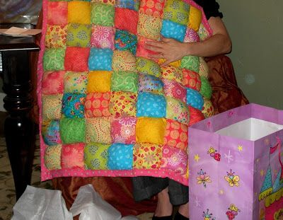 puff+quilt+pattern+free | Biscuit or Puff Quilt Free Pattern (Baby Quilt) – Quilting Board