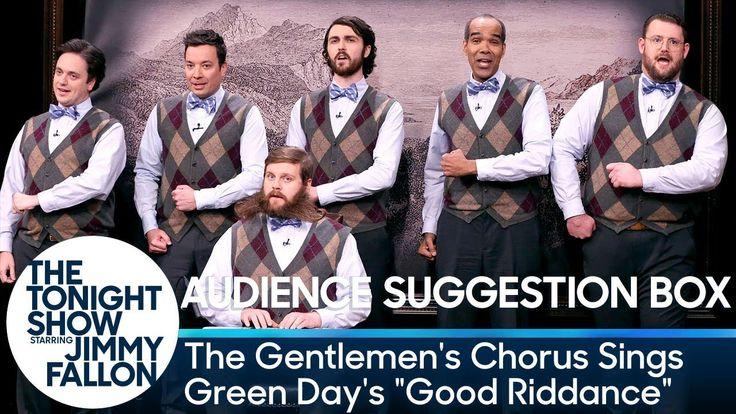 "The Gentlemen's Chorus Sings Green Day's ""Good Riddance"" - YouTube"