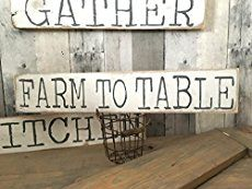 """Hey Friends!  My DIY Painted Wood Signs – Without Using Stencils! post was a big hit! So much so that I've gotten a ton of requests to make more tracable letter printables for other signs, the most popular being letters for a """"Farmhouse"""" sign. I actually made the farmhouse sign pictured a few months[readmore...]"""