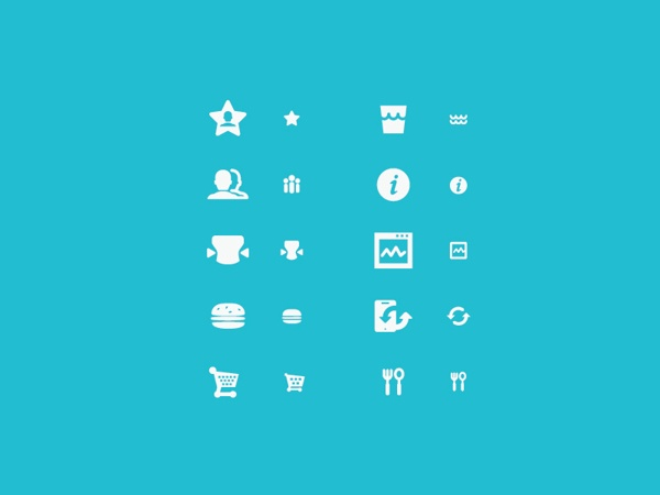 some icon set by mrkrft