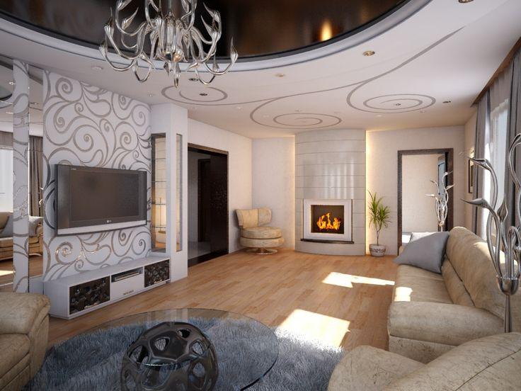 гостиная студия с камином в стиле модерн в 18м квартире: 25 тыс изображений найдено в Яндекс.Картинках