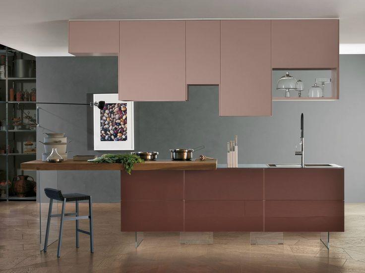 Devincenti Multiliving Ⓓ La cucina modulare 36e8 di Lago rompe gli schemi, grazie ad un sistema componibile che ispira il designer che c'è in te.
