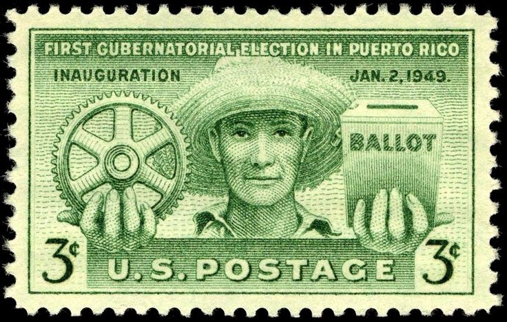 first history Puerto Rican Day Events images | Puerto Rico election, 1949 issue.