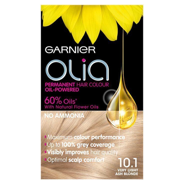 Garnier Olia 10 1 Very Light Ash Blonde Permanent Hair Dye Ash