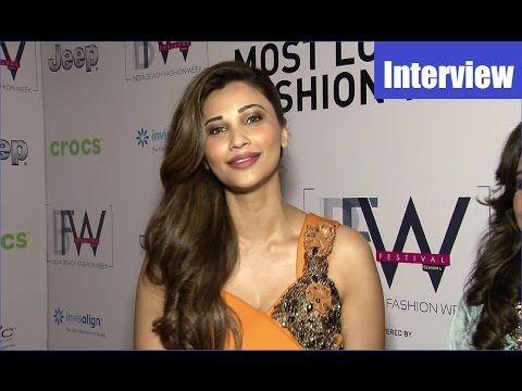 Daisy Shah's post ramp walk interview | India Beach Fashion Weeks 2017.