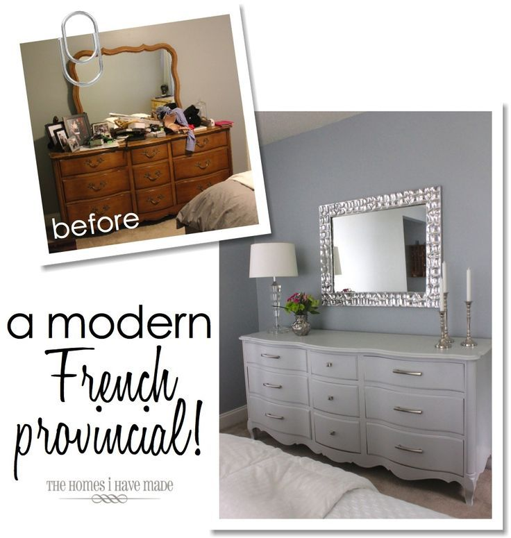 A modern french provincial dresser for Modern french furniture