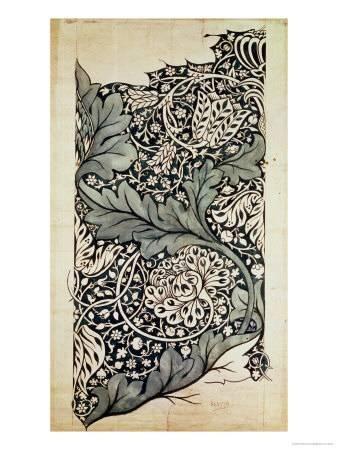 Design for Avon Chintz, circa 1886 Giclee Print by William Morris at Art.com