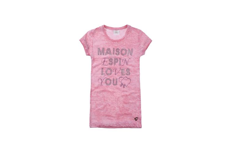 Maison Espin in pink #maisonespin #springsummercollection13 #womancollection #tshirt #lovely #MadewithLove #romanticstyle #milano #pink