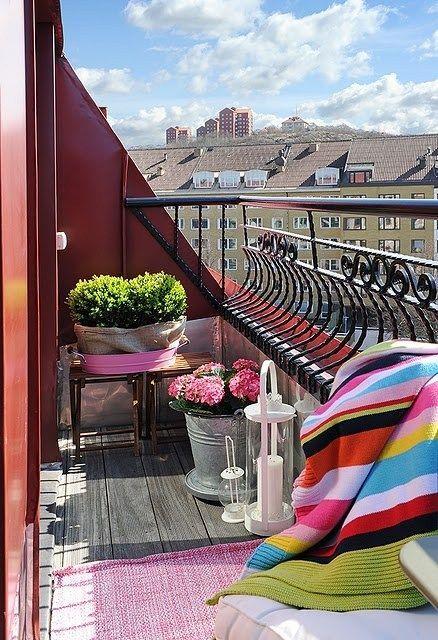 Balcone piccolo: 20 idee per arredare /2 | Guida Giardino