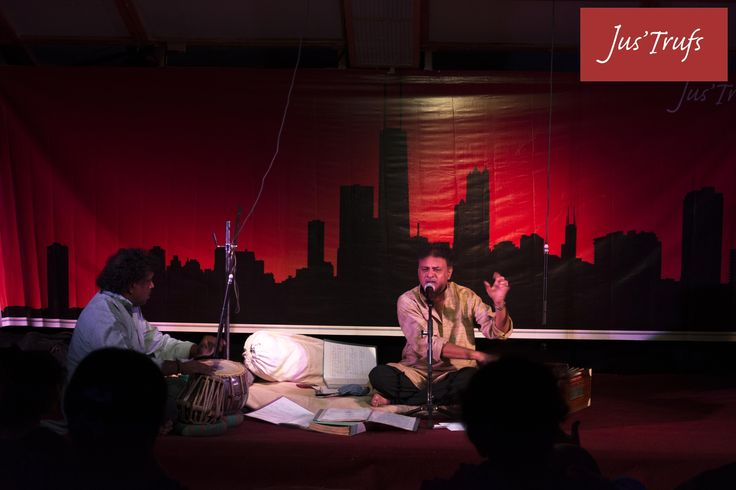 Annmol Kkhazaane was a terrific ghazal evening Everyone was mesmerized by the performance by Ram Nagaraj:) #justrufs