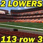 #Ticket  3RD ROW 2 TIX: Atlanta Falcons @ Cleveland Browns NFL PRESEASON 8/18 113row3 #deals_us