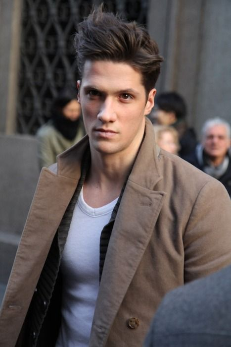 hot hairHairstyles, Men Hair, Fashion Ideas, Style Hair, Street Style, Men Fashion, Hair Style, Leather Jackets, Leather Belts