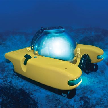 Who else would make something like this? The Personal Submarine - Hammacher Schlemmer