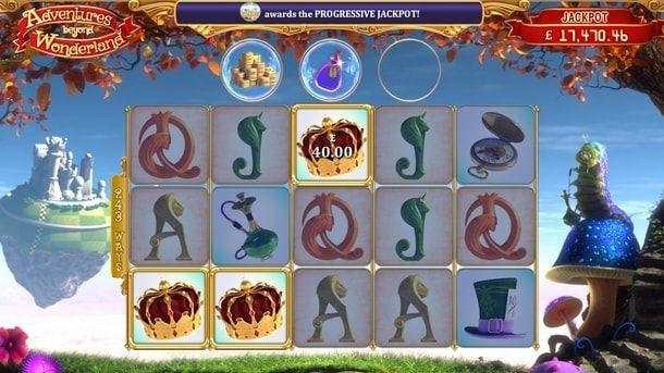 Adventures Beyond Wonderland в казино Вулкан на деньги - Если вы ищете в казино Вулкан действительно увлекательную игру с уникальными бонусами, обратите внимание на Adventures Beyond Wonderland. Она подарит солидные суммы реальных денег, а заодно позволит пройтись по страницам известной