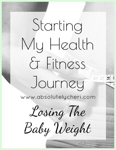 Read about the start of my health and fitness journey