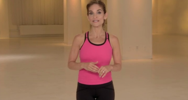 Joy Bauer of the Joy Fit Club's Slimdown Workout video