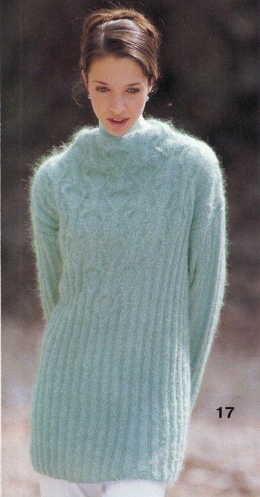 Голубой мохеровый пуловер. Обсуждение на LiveInternet - Российский Сервис Онлайн-Дневников