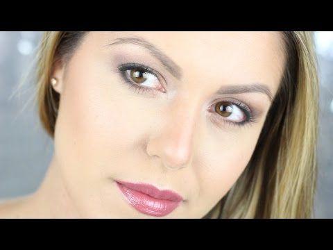 ♥ Oogschaduw tips voor hangende oogleden - YouTube