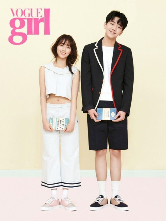 Kim So Hyun and Nam Yoon Soo Pose for Vogue Girl | Koogle TV