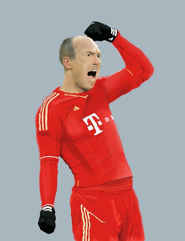 Homenaje Arjen Robben PS