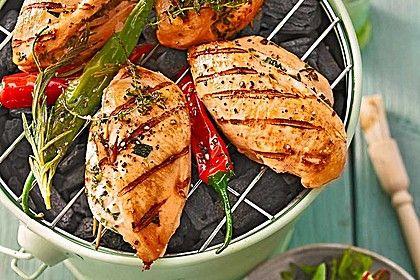 Gefüllte Hähnchenbrust - perfekt zum Grillen