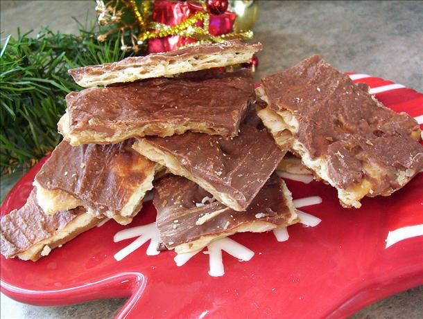 Mock Skor Bars from Food.com:   Taste just like skor bars. These are great and very addictive.