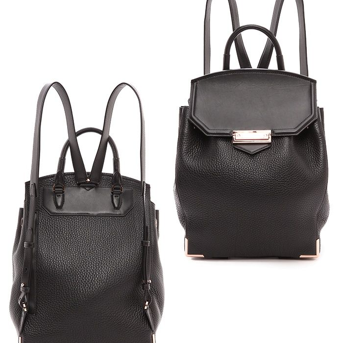 Rank & Style - Alexander Wang Prisma Skeletal Backpack/Rose Goldtone #rankandstyle #backpacks #bags http://www.rankandstyle.com/top-10-list/best-designer-backpacks/