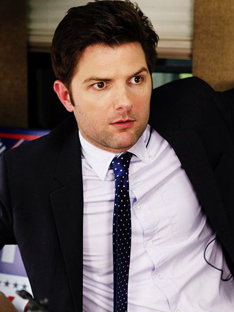 Adam Scott..I think hes saying dear lord in this pic lol