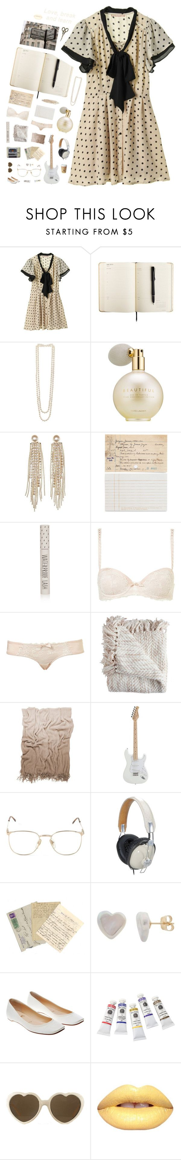 """""""725"""" by glitterals ❤ liked on Polyvore featuring Damsel in a Dress, Kenneth Jay Lane, Estée Lauder, Charlotte Russe, Chronicle Books, Topshop, Moltex, Persol, Panasonic and Cobra & Bellamy"""