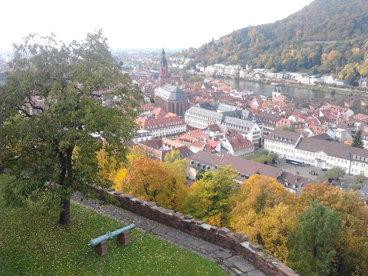 Heidelberg von Schloß