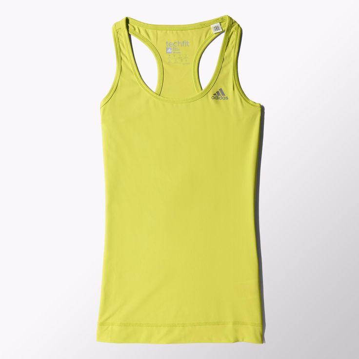 Adidas trainingstanktop voor dames in climalite®-stof € 33 bij Daka, nu met korting (geen idee hoeveel). Maat L denk ik...