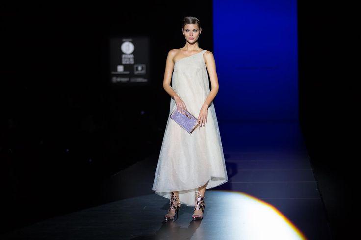 Colección Azabache en la Fashion Week de Madrid #HannibalLaguna #zapatos #accesorios