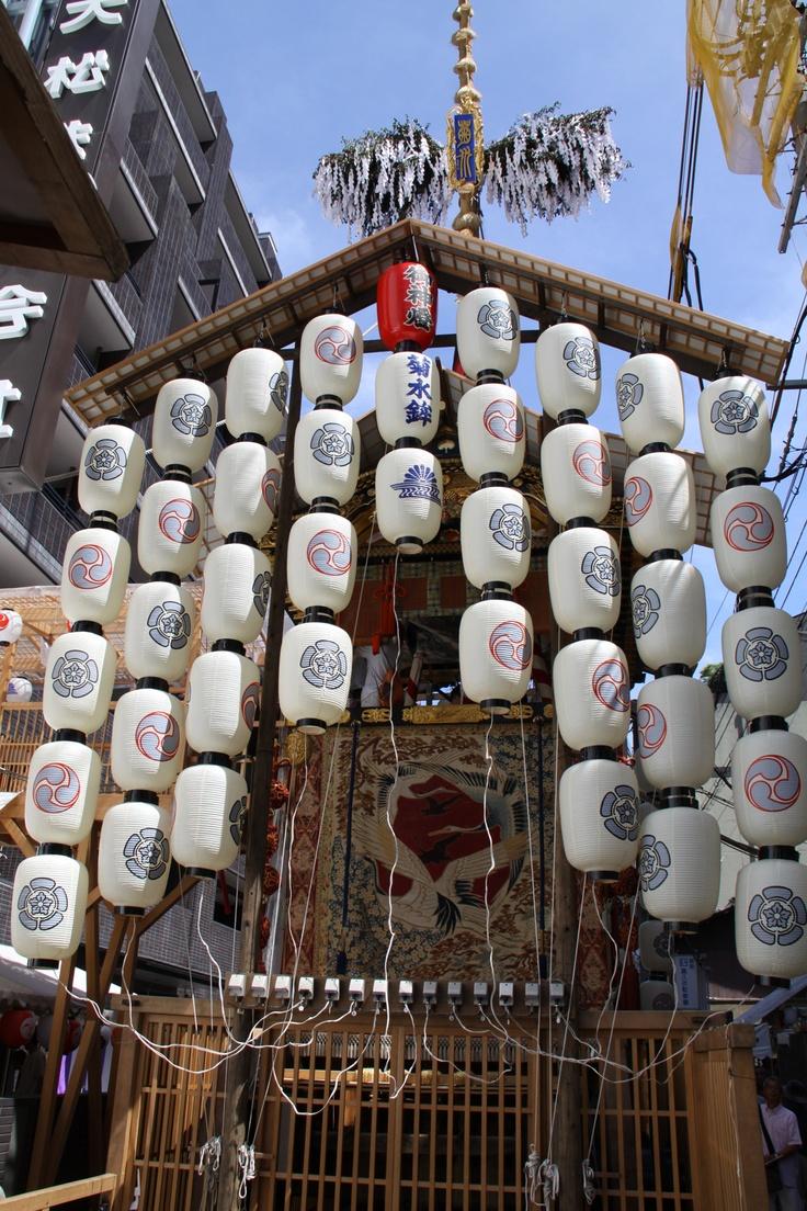 昼の鉾も良いものだ。菊水鉾。 祇園祭 京都 kyoto gion festival