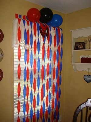 Spiderman decorations