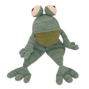 Suzi B Crochet Frog