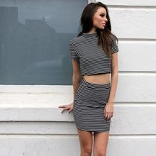 Wilde Heart Manhattan Strip Dress