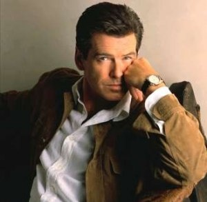 Pierce Brosnan. I like him better as Remington Steele.