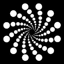RADIAL BALANCE This form of balance employs radiating or emanating forms from a given area or object.