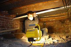 Underfloor Insulation Under A Suspended Floor