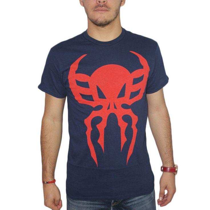 Marvel Spider-Man 2099 Men's Blue T-shirt NEW Sizes S-2XL #SpiderMan #Tshirt