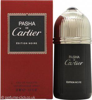 Cartier Pasha de Cartier Edition Noire Eau de Toilette 50ml SprayPasha de Cartier by Cartier. This is a aromatic and woody fragrance for men. It contains of lavender, mandarin, mint, caraway, anise, coriander, brazilian rosewood, labdanum, sandalwood, patchouli and oakmoss.   Pasha de Cartier by Cartier was launched 1992.